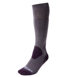 Women's Cool and Cold Sock Long - Violet