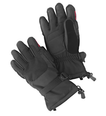 Weather System Gloves Winter Waterproof - Black