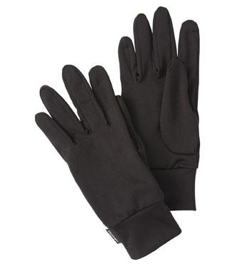 Weather System Gloves Inner - Black