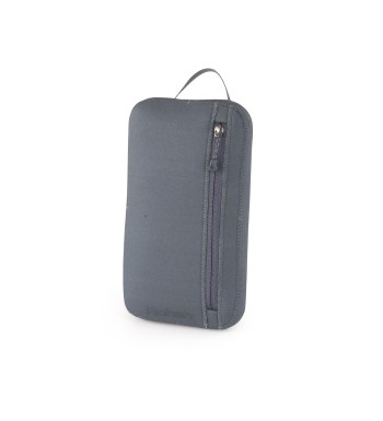Light, padded organiser for personal belongings.