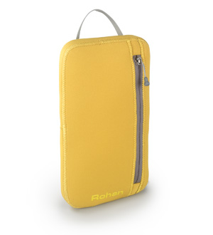 Light, padded organiser for personal belongings