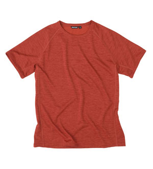Men's Core Silver T - Horizon Red Marl