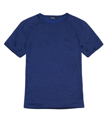 Men's Core Silver T - Flag Blue