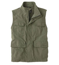 Rugged, technical field vest