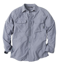 The definitive adventurous travel shirt