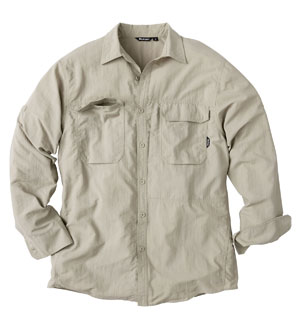 Men's Expedition Shirt - Cool Stone