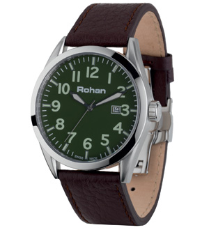 Men's Field Watch - Green/Brown