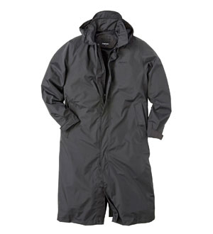 Men's Globetrotter Mac - Charcoal