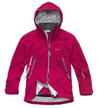 Fully waterproof mountain jacket