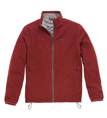 Men's Kombi Jacket - Garnet Red/Cloud