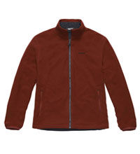 Classic, versatile reversible fleece jacket
