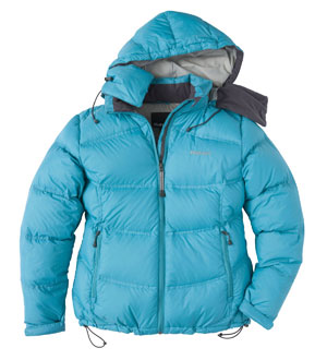 Women's Nightfall Jacket - Gokyo Green/Titanium