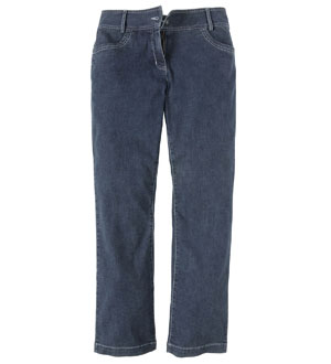 Women's Jeans Plus Straight Leg - Dark Denim