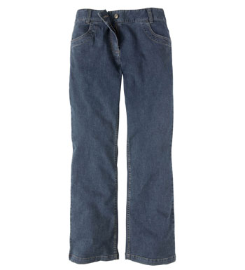Women's Jeans Plus Boot Cut - Dark Denim