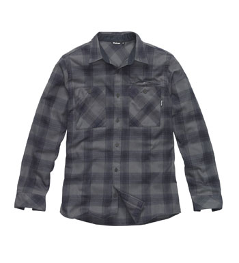 Men's Beacon Shirt - Storm Cloud/Ink Check