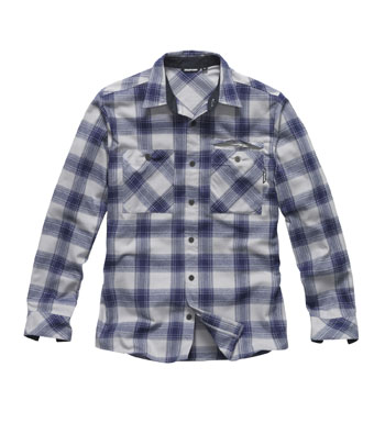 Men's Beacon Shirt - Stone/Team Blue Check