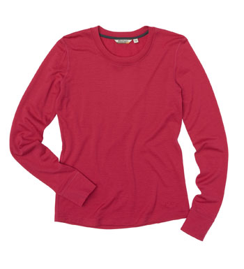 Women's Superfine Merino 200 T - Persian Pink