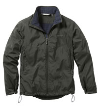 Warm, windproof active jacket
