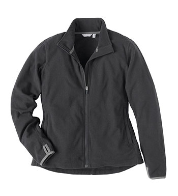 Women's Microgrid Stowaway Jacket - Black