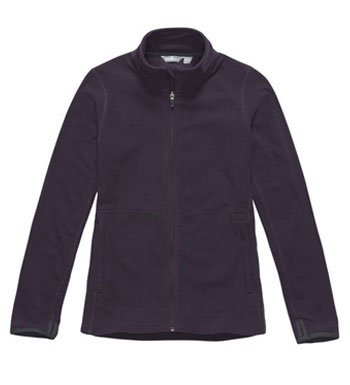 Women's Microgrid Stowaway Jacket - Blackberry