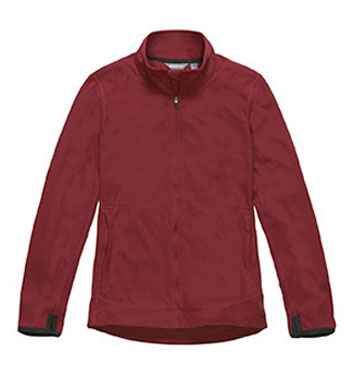 Women's Microgrid Stowaway Jacket - Red Bud