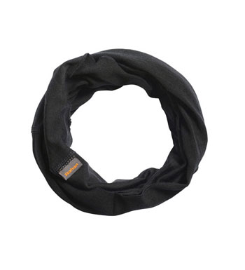 Superfine Merino 200 Necktube - Black
