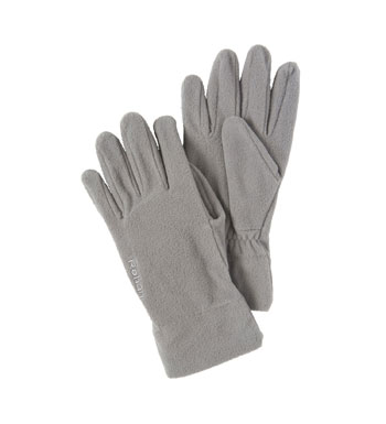 Unisex Vital Fleece Gloves - Lead