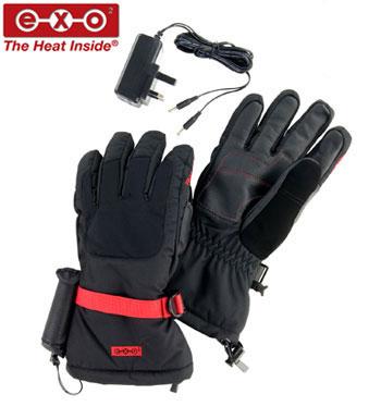 Self-heating waterproof winter gloves