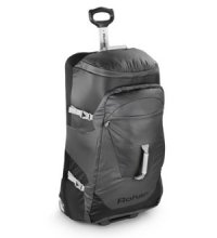 Wheeled duffle for serious load lugging