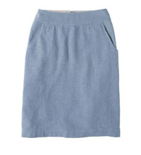Technical travel skirt