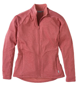 Women's Nanogrid Jacket - Poinsettia