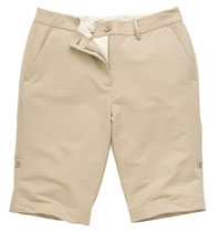 Technical chino shorts
