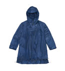 Technical waterproof cape