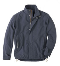 Technical travel jacket