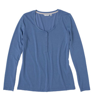 Women's Serene Top - China Blue