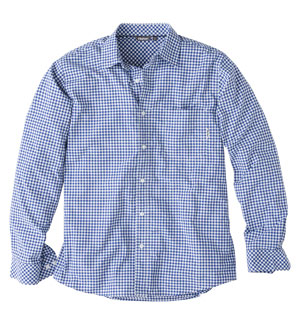 Men's Worldview Shirt - Zenith Blue Gingham