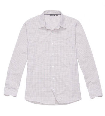 Men's Worldview Shirt - Red Micro Check
