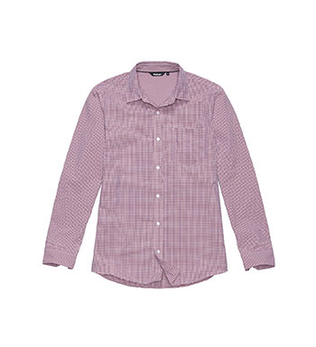 Men's Worldview Shirt - Scarlet Gingham
