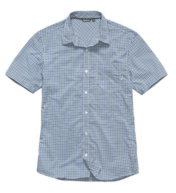Men's Worldview Shirt - Flag Blue