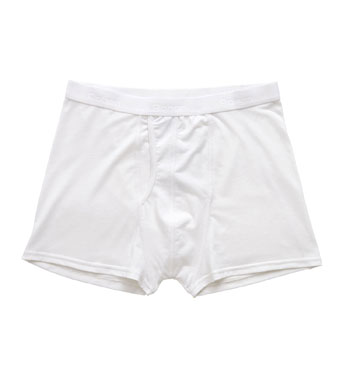 Men's Trunks Plus - White