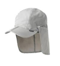 Technical packable sun cap