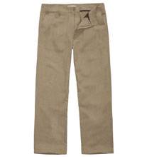 Technical, casual linen trousers.