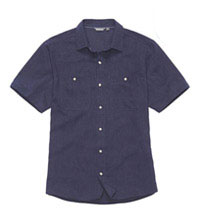 Casual, comfortable, technical linen shirt.