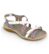 Lightweight, technical travel sandal.