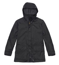 Waterproof jacket for town and country.