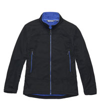 Functional, wind-resistant fleece jacket.