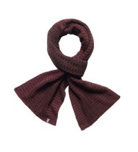 Warm, knitted scarf.