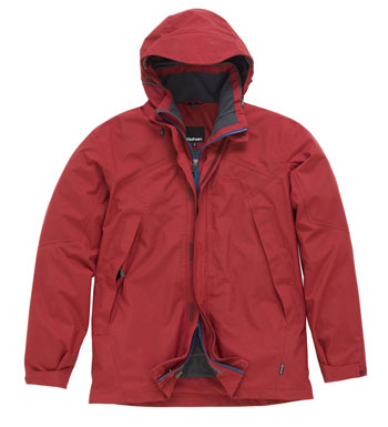 Men's Mountain Guide Jacket - Garnet Red