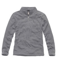 Versatile fleece pullover for outdoors and everyday