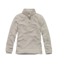 Casual, technical fleece pullover